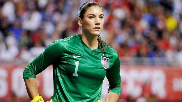 U.S. soccer star Hope Solo says ex-FIFA president 'grabbed' her