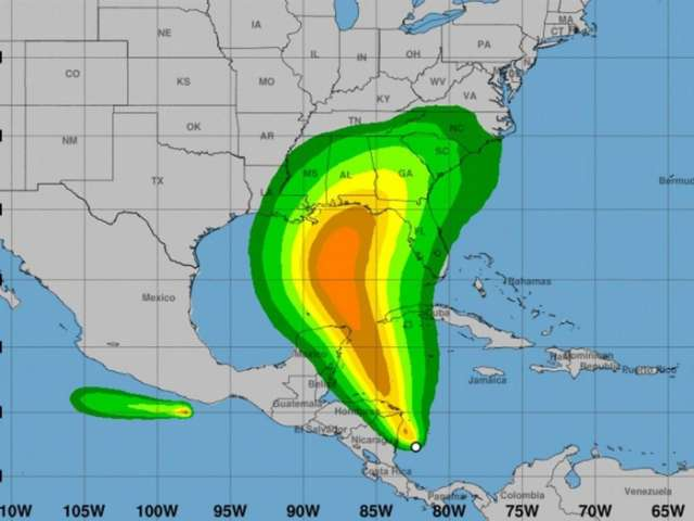 Hurricane could strike US Gulf Coast this weekend, forecasters warn