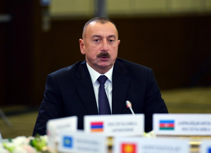 Azerbaijan became one of global centers for discussing humanitarian issues - Ilham Aliyev