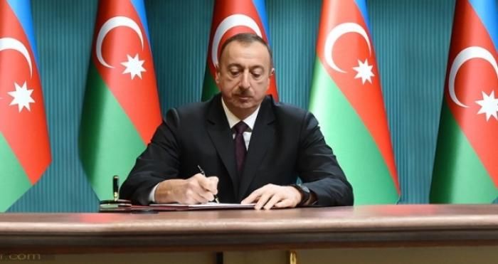 Azerbaijani president allocates AZN 1.5M for supply of Jojug Marjanli