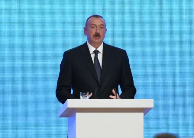 First phase of Sea Trade Port in Alat to be commissioned in mid-2018 - Ilham Aliyev