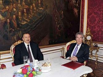 İlham Əliyev Avstriyada TANAP layihəsindən danışıb
