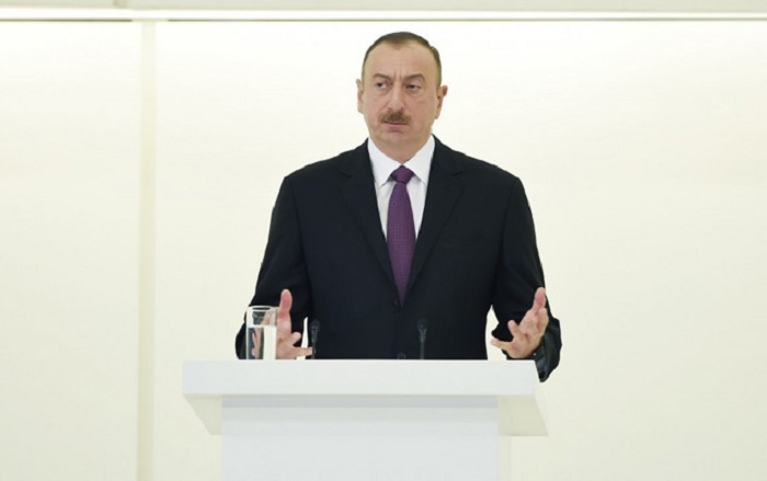 Ilham Aliyev: Azerbaijan pursues large-scale, elaborate social security policy