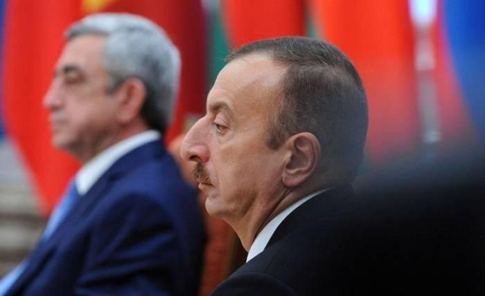 Aliyev et Sarkissian se réuniront aujourd'hui à Genève
