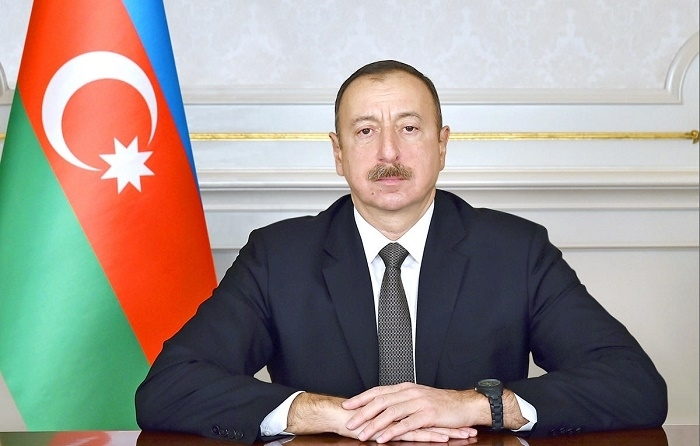 Ilham Aliyev awards servicemen of Special State Protection Service