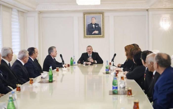 Ilham Aliyev sobre el desarrollo de Azerbaiyán RENOVADO