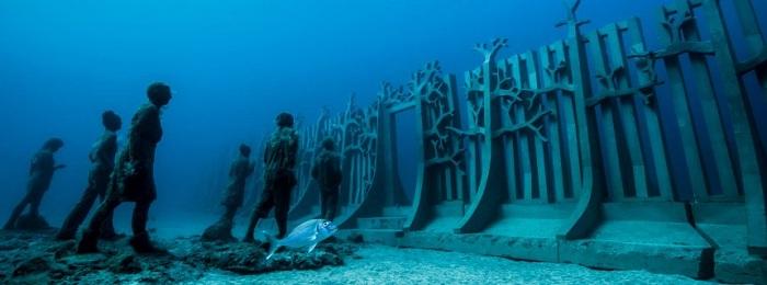 Unterwasser-Museum vor Lanzarote