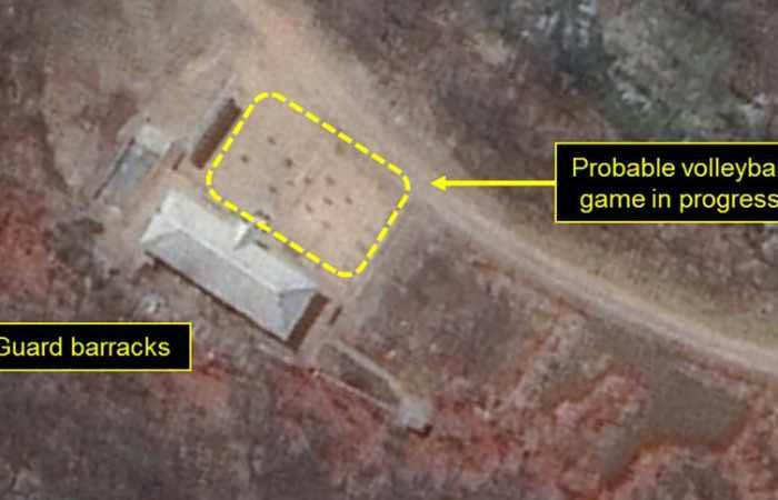 Bilder von Atomtestgelände in Nordkorea