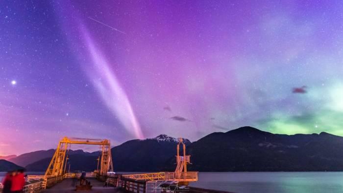 Mysteriöses Himmelsleuchten
