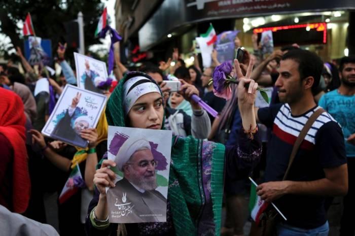 Präsidentenwahl in Iran zwischen Selfie und Gottesstaat