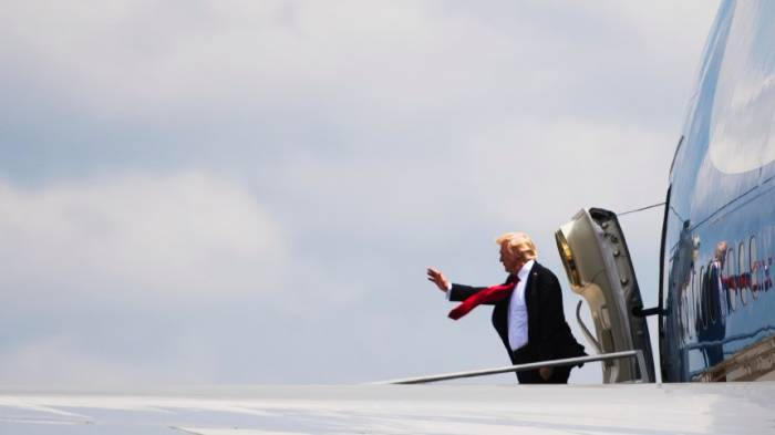 Trumps erste Auslandsreise