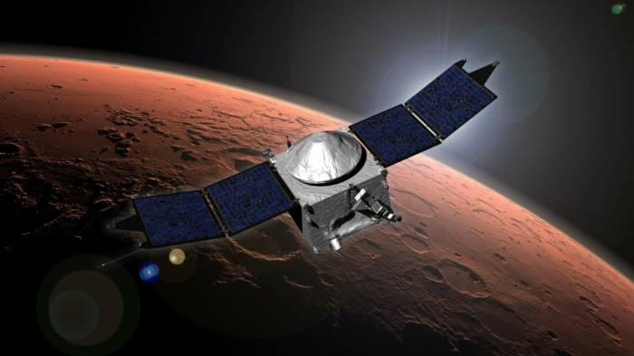 Roter Planet hinter Sonne Nasa verliert Kontakt zum Mars