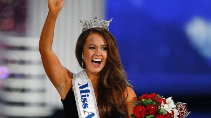 Miss America 2018 will in die Politik