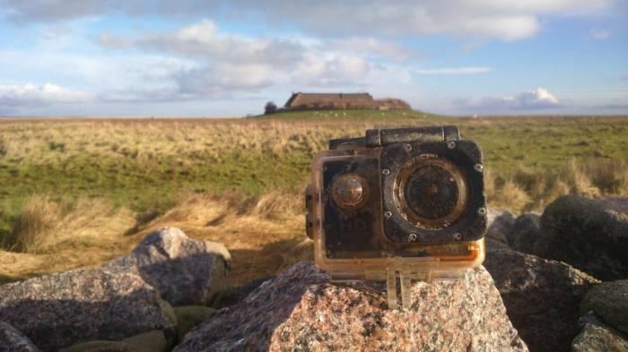 Verlorene Kamera filmt ihren Untergang - und treibt von England nach Süderoog