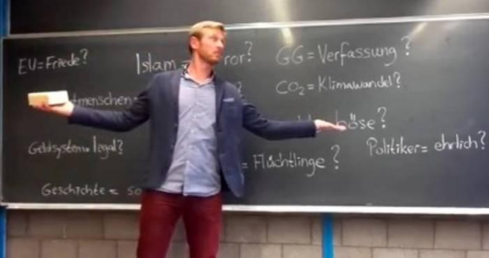 Berliner Lehrer verbreitet rechte Verschwörungstheorien