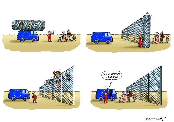 Flüchtlingskrise: Absurd, zynisch, böse
