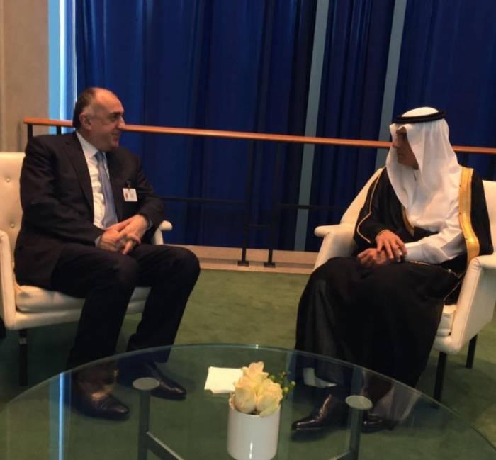 Gespräche zwischen den Außenministern Aserbaidschans und Saudi Arabiens in New York