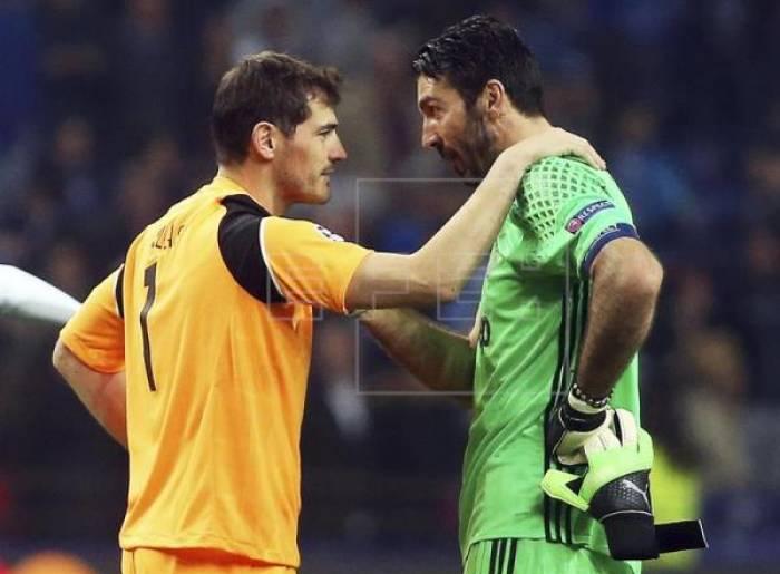 """Casillas: """"Si el rival no fuera el Real Madrid desearía que ganara Buffon"""""""