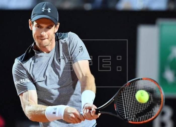 El vigente campeón Murray cae eliminado en Roma; pasan Djokovic y Goffin