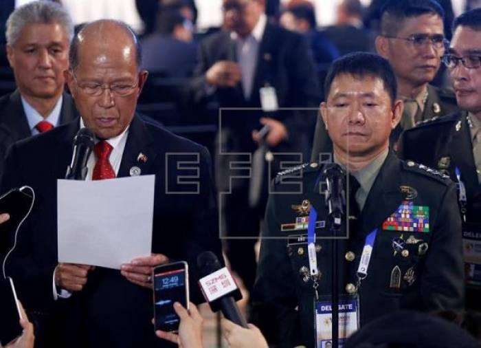 El ministro filipino de Defensa declara el fin de los combates en Marawi