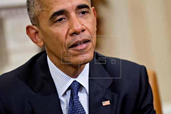 Obama defiende su estrategia antiterrorista y lanza advertencias a Trump