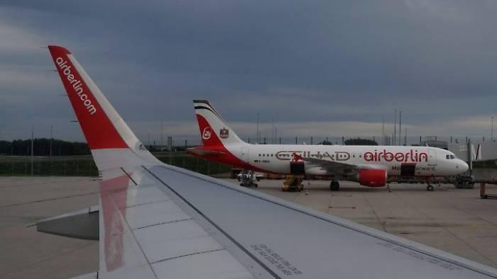 Air Berlin lässt weitere Flüge ausfallen