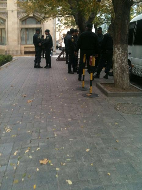 Polis gücləndirilmiş iş rejimində