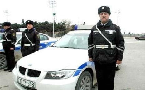 Bakı polisindən ibrətamiz aksiya