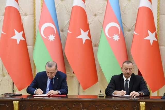 Azerbaijan, Turkey sign agreements