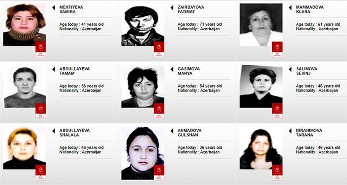 İnterpolun axtardığı azərbaycanlı qadınlar - (FOTOLAR)