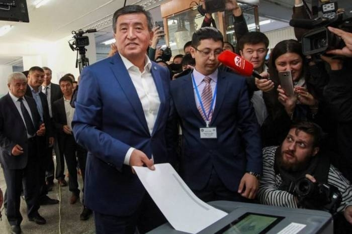 Jeenbekov won presidential election in Kyrgyzstan in first round - preliminary results