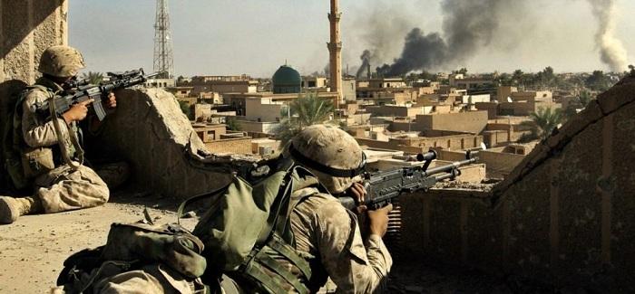 Militares iraquíes derriban un dron espía de los peshmerga