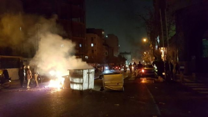 Iran protesters rally again despite warning of crackdown