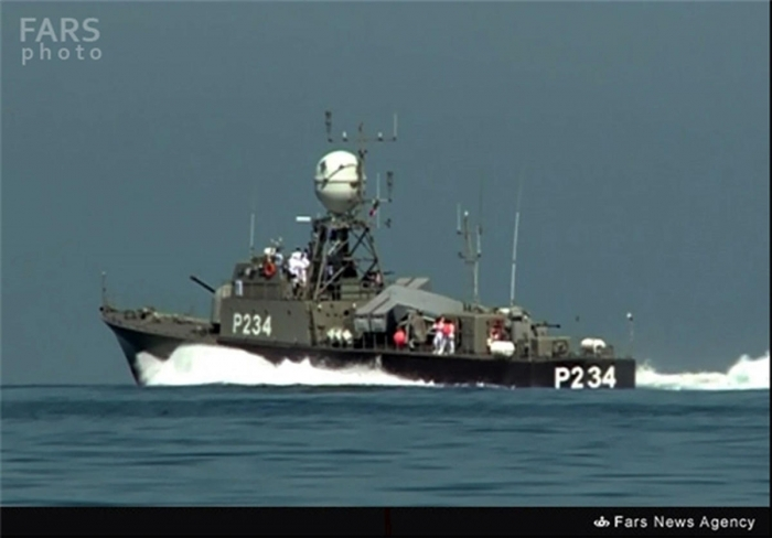 Home-made missile-launching warship joins Iran Navy in Caspian Sea