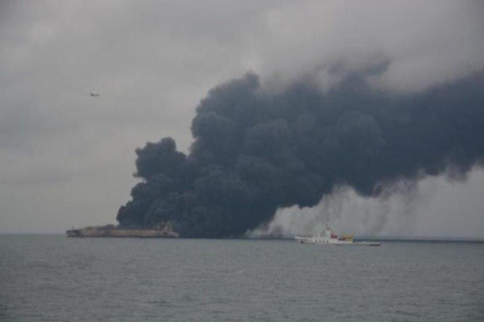 All crew members of Iranian oil tanker die: official