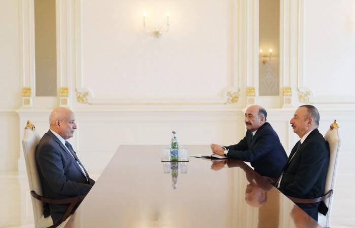 President Ilham Aliyev received ISESCO Director General