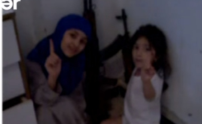 Anası iki övladını qaçırıb İŞİD-ə qoşuldu – Video