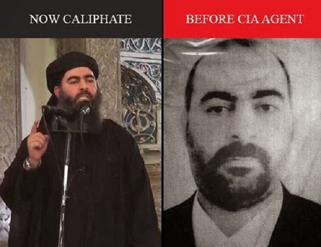 ISIS Leader 'Al-Baghdadi' is 'Jewish Mossad Agent' Named Simon Elliot - VIDEO, PHOTOS