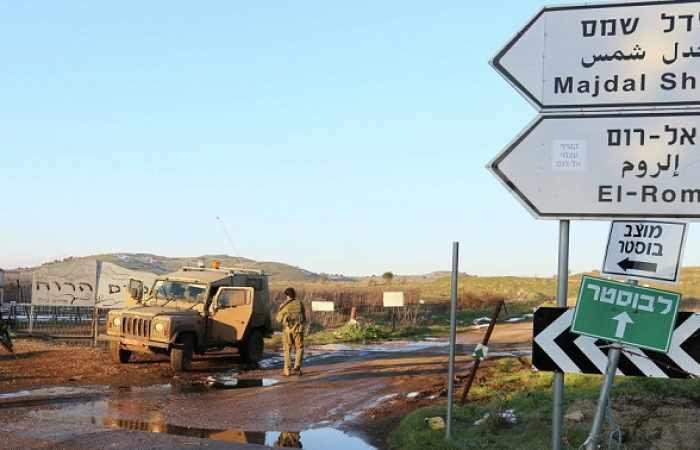 Tres proyectiles impactan en zonas despobladas del Golán ocupado por Israel
