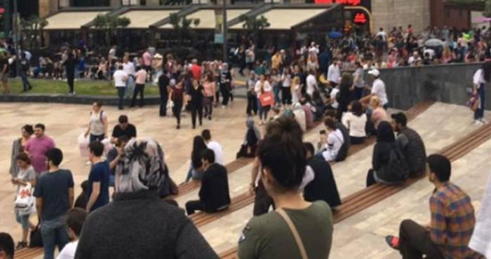 İstanbulun mərkəzində bomba həyəcanı