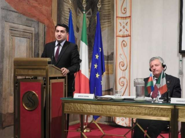 Conference on Azerbaijani-Italian diplomatic relations held in Rome
