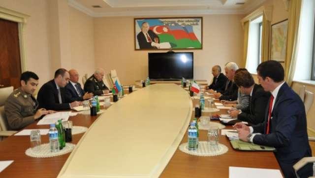 Italian Leonardo company interested in cooperation with Azerbaijan