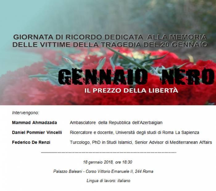 20. Januar Tragödie in Italien gedacht