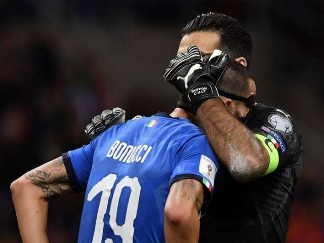 Italy fail to qualify for first World Cup in 60 years after play-off defeat to Sweden