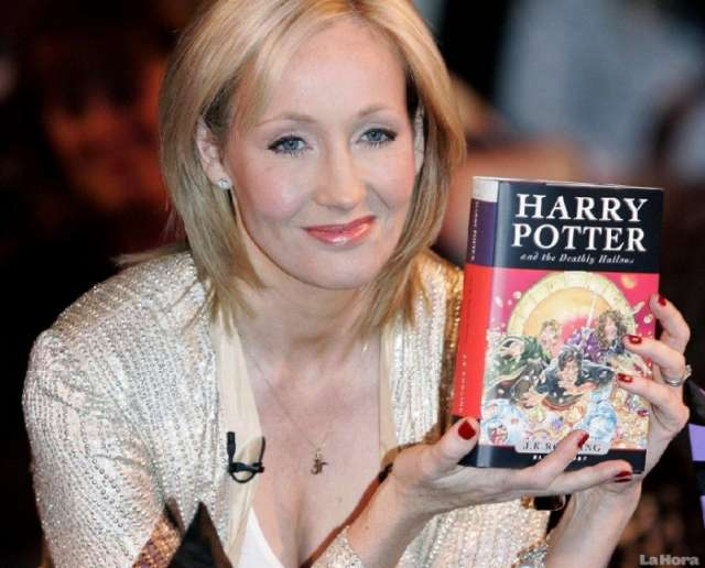 Joanne Rowling tops list of world's richest writers