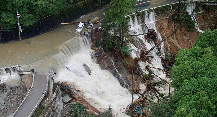 Autoridades japonesas ordenan evacuación de 900 personas por el tifón Lan