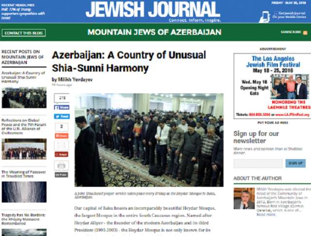 Azerbaijan: A Country of Unusual Shia-Sunni Harmony - Jewish Journal