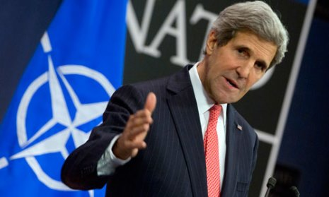 Kerry: Two state solution vital to curb extremism