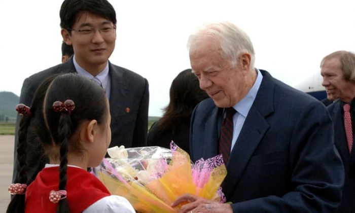 Jimmy Carter offers to talk peace with North Korea's Kim, says academic