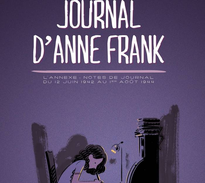 """Le """"Journal d'Anne Frank"""" adapté en bande dessinée"""